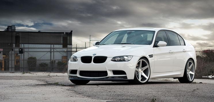 """19"""" Avant Garde M550 Wheels in Silver BMW 5 Series 528 535 550 F10 5 Spoke AG"""