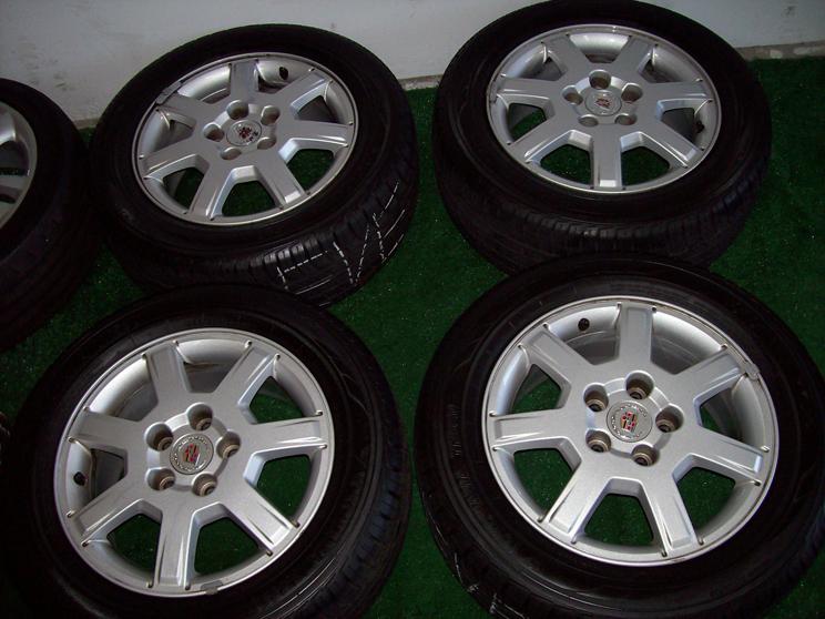 "16"" Factory Cadillac cts Wheels with Yokohama Tires Silver 17 18 19"