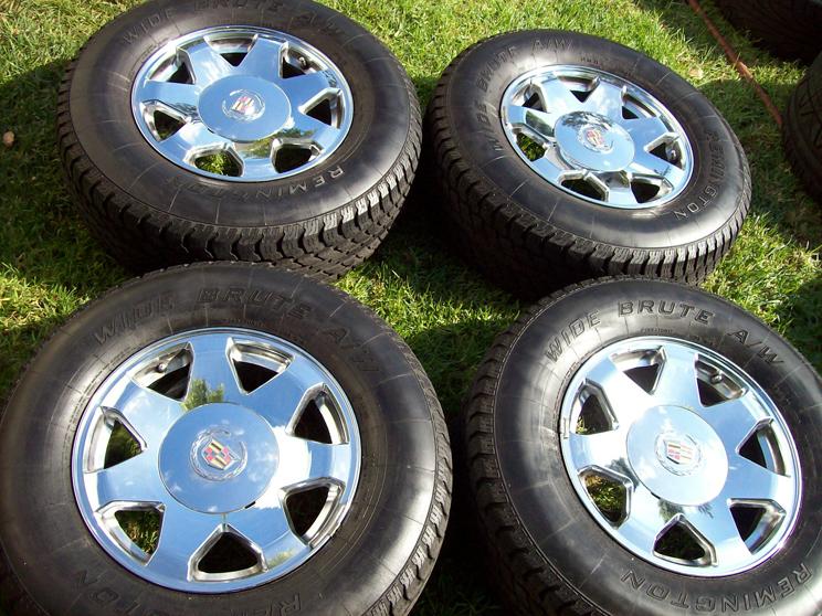 17 Cadillac Escalade Wheels Chrome OEM Chevy Suburban Tahoe GMC Sierra