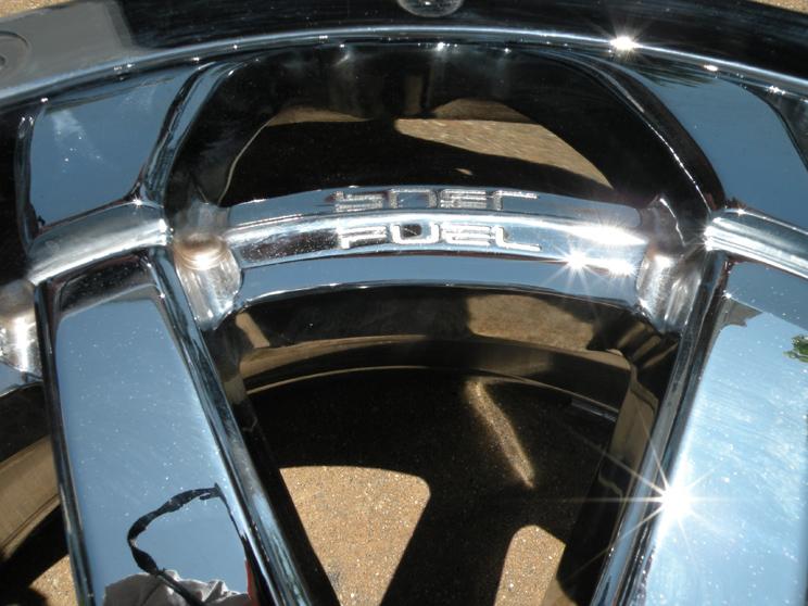 "20"" Chrome Fuel Maverick Wheels Ford Superduty F 250 F 350 F 450 F 550 Excursion"