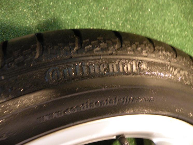 """17"""" Factory Mercedes E Class Wheels Tires E320 E350 E500 E550 Continental"""