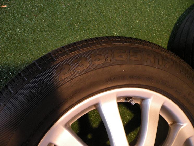"17"" Factory Porsche Cayenne Wheels VW Touareg Audi Q7 Continental Tires"