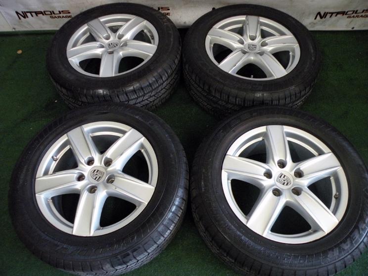 "18"" Factory Porsche Cayenne Wheels VW Touareg Audi Q7 Goodyear Tires 19"