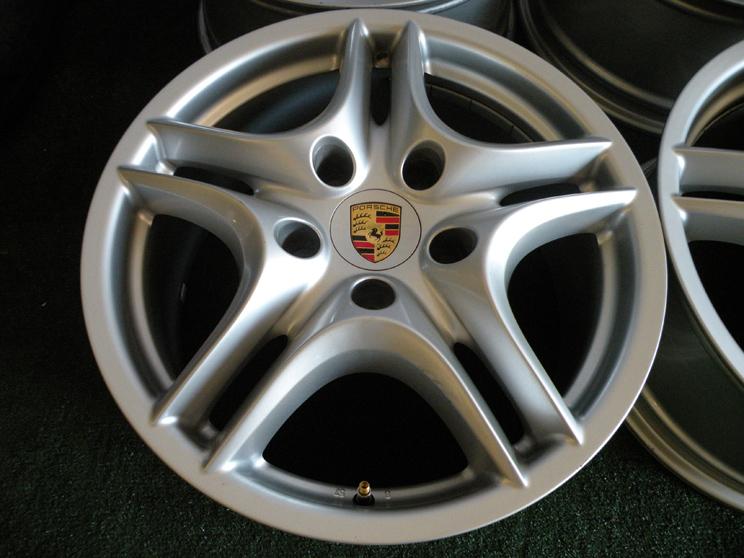 "18"" Factory Porsche Cayenne Wheels Turbo s VW Touareg Audi Q7 3 6 4 2 TDI"