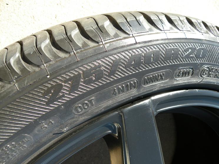 """20"""" Niche GT Wheels Land Range Rover HSE Sport Matte Black Michelin Tires"""