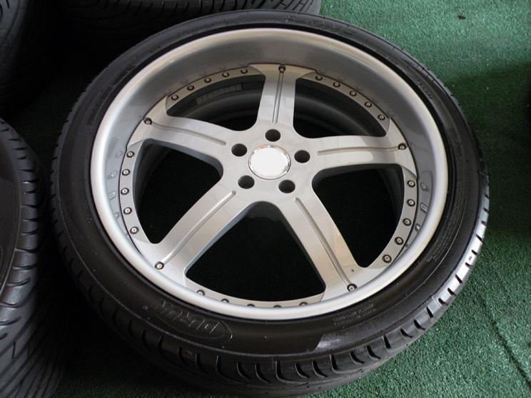 "22"" 2 Piece Wheels Land Range Rover HSE HST LR3 LR4 Sport Tires Forged Asanti"