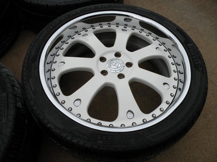 22 Strut 3pc Forged Wheels Range Land Rover HSE HST Sport LR3 Tires LR4 Asanti