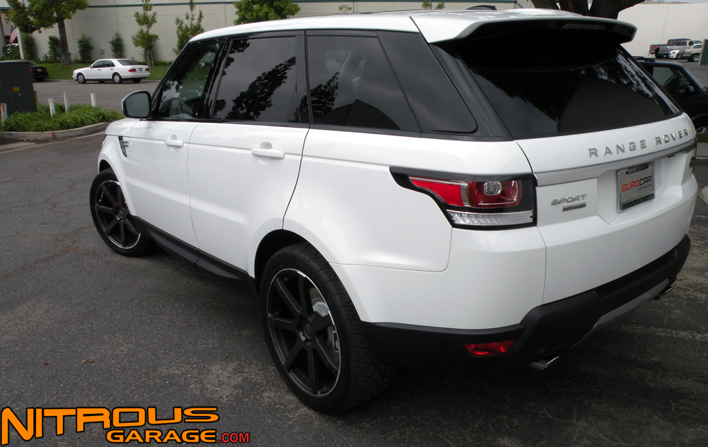 """22"""" Giovanna Andros Wheels Range Rover Land Sport HSE HST Supercharged Disco II"""